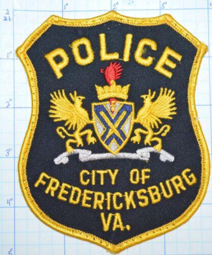 VIRGINIA, FREDERICKSBURG POLICE DEPT PATCH