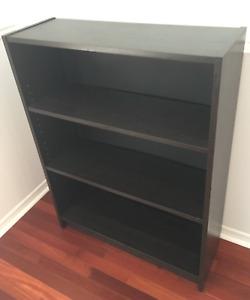 Ikea Dark Brown Bookcase
