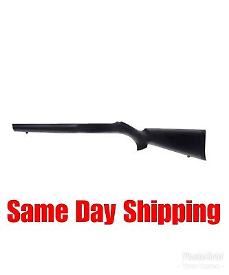 Hogue Grips Rubber Overmolded Stock for Ruger 10/22 With Standard Barrel – Black