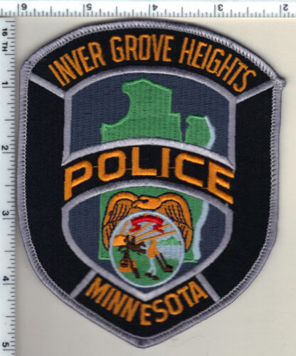 Inver Grove Heights Police (Minnesota)  Shoulder Patch  - new from 1991