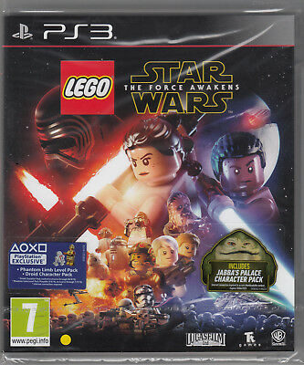 LEGO Star Wars The Force Awakens PS3 PlayStation 3 Brand New Factory (Lego Star Wars The Force Awakens Ps3)