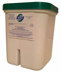ROOTX 4 Pound Jar Root Killer For Sewer Drain Pipes Plumbing Pipe Cleaner