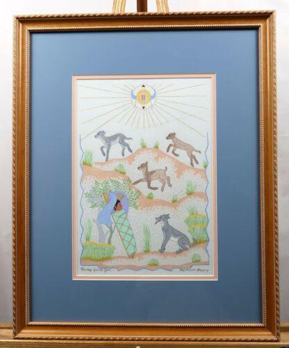 Harrison Begay Original Painting