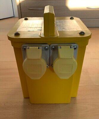 Site Workshop Power Tool Portable Dual Transformer Convertor 240V to 110V 3KVA