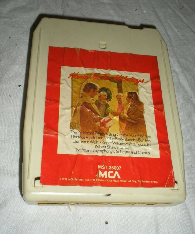 Home For The Holidays Bing Crosby, Burl Ives, Lawrence Welk & Others Eight Track