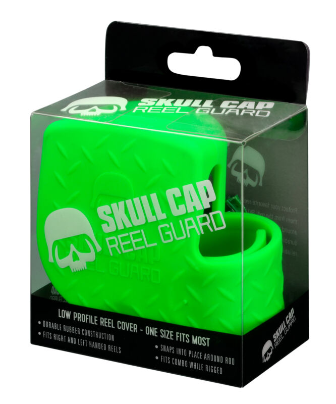 13 Fishing Skull Cap Low-Profile Baitcaster Cover Up to 200 Size Reels RH & LH