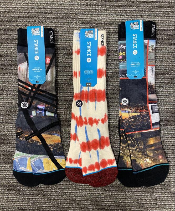 3 Pairs of Stance Big Kids Socks L/XL Size 6-8.5