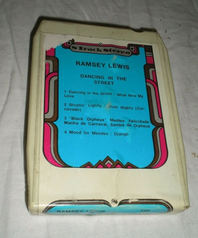 Ramsey Lewis - Dancing In The Street - 8 Eight Track Tape