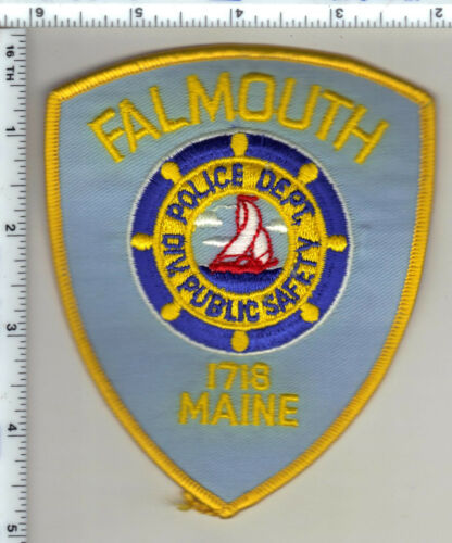 Falmouth Police (Maine) Shoulder Patch - new from 1989