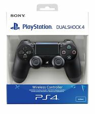 PS4 DualShock 4 Controller Black V2 BRAND NEW SEALED OFFICIAL
