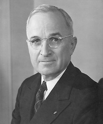 US PRESIDENT HARRY S TRUMAN 8X10 GLOSSY PHOTO PICTURE