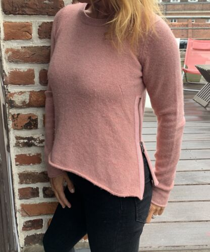 Pull col v  zadig et voltaire 100 % cachemire taille s