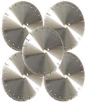 5pk-14 Laser Welded Concrete Brick Block Paver Asphalt Diamond Saw Blade-best