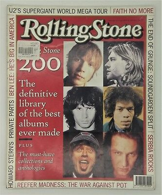 ROLLING STONE Magazine. Vintage 1997 #537 Special - 200 Best Albums Ever