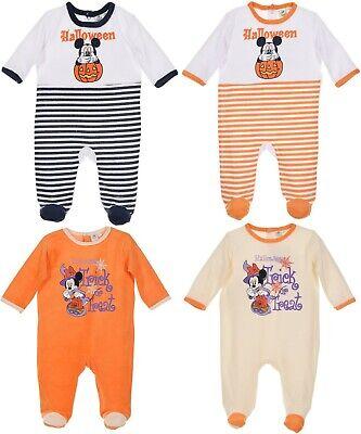 Halloween Baby Sleepsuit (Halloween costume Sleepsuit Mickey Minnie Mouse Girls Boys Baby Romper Pyjamas)