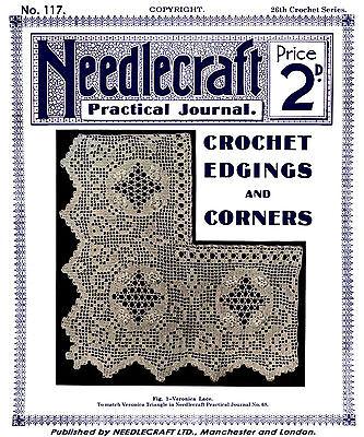 Шаблоны Needlecraft Practical Journal #117 c.1914