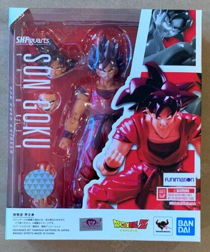 Dragon Ball S.H.Figuarts - Son Goku Kaioken Action Figure -  Bandai - In Stock