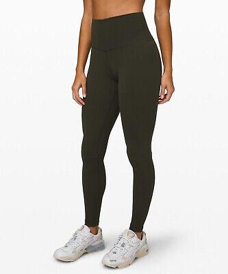 """Lululemon Women's Align Pant Tight 28"""" DKOV Dark Olive Green"""