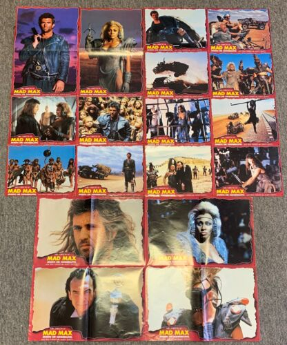 lot of German MAD MAX BEYOND THUNDERDOME promos~posters/lobby cards