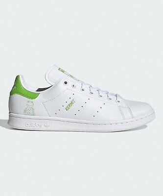 Adidas Stan Smith Shoes Kermit The Frog White FX5550 US 7.5 // Free Fedex