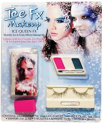 Ice FX Makeup Ice Queen Effects Realistic Ice & Frosty Halloween Costume Frozen