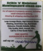 Bribie 'n' Mainland mowing & yard clean ups Bellara Caboolture Area Preview
