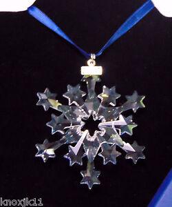 Swarovski 2004 Crystal Star SNOWFLAKE CHRISTMAS ORNAMENT ...