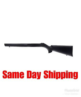 Hogue Overmold Stock for Ruger 10/22 Bull Barrel, Black 22010 Rifle Stock