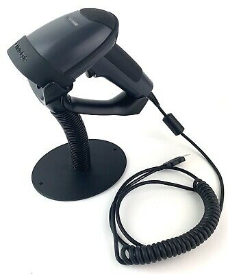 Metrologic Focus Ms1690 Usb Barcode Scanner 6ft Cable Stand