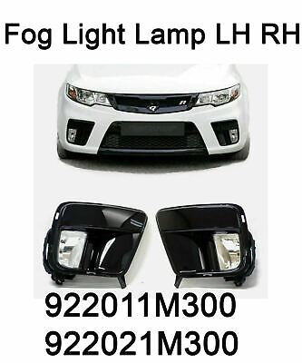 New OEM Fog Light Lamp LH RH Cover Wiring Set for Kia Forte Koup Cerato 10-13