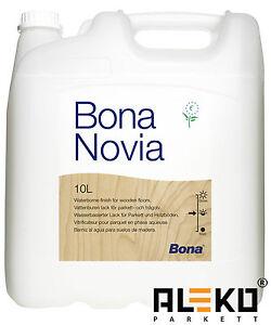 Bona Novia Parkettlack halbmatt 10L * Parkett Versiegelung Lack seidenmatt