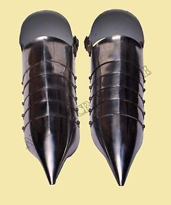 Medieval Armour Sabatons 14th Century Re-enactment Shoes18 Gauge