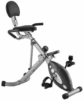 Folding Sunny Health Fitness Stationary SF-RB1202 Recumbent Exercise Bike