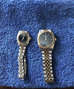 His and hers citizen watch