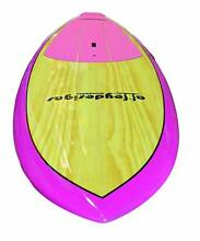 Stand up paddle board pink, wood beginner $775 Alleydesigns Currumbin Waters Gold Coast South Preview