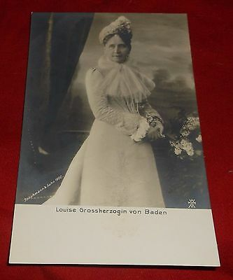 Vintage Postcard Real Photo RPPC - Princess Louise of Prussia Duchess of Baden