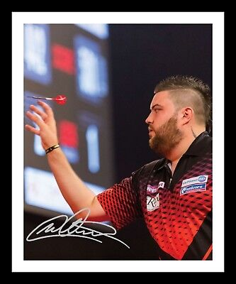 MICHAEL SMITH AUTOGRAPHED SIGNED & FRAMED PP POSTER PHOTO 1