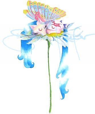 My Little Pony G1 Moonjumper Windy Wing Winger Watercolor Print by ponyqueen - Windy Wings
