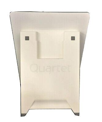 Quartet Glass Dry-erase Desktop Easel White Glass Surface Rectangle Gde119