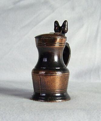 Miniatur nostalgischer Krug aus Kupfer Play me