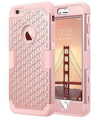 Estuche Para Iphone 6 Plus, Iphone 6S Plus Estuche De Brillo, Bling Rhinestone
