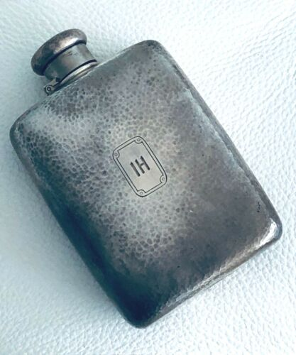 Rare! Vintage Tiffany & Co MAKERS Sterling Silver Whisky Liquor Flask 247 Grams