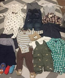 *REDUCED* 6-12 Month Summer/Fall Boy Clothing - Brand Name