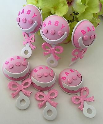 10-Baby Shower Party Table Decorations Foam Centerpiece Favors Supplies Girl DIY (Baby Shower Favors Diy)