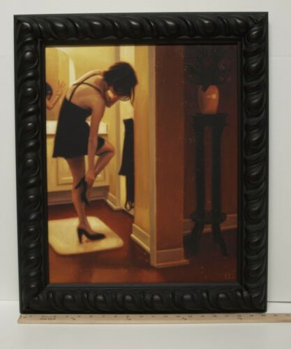 Painting, Original, Late Night, Carrie Graber, Signed