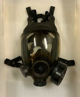 Msa Advantage 1000 Riot Control Full Face Respirator Gas Mask Large With Filter