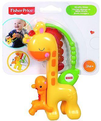 Fisher-Price CGR92 Giraffe Slider Baby Rattle Toy