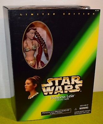 HASBRO STAR WARS PRINCESS LEIA COLLECTION LEIA SLAVE R2-D2 JABBAS PRISONERS gebraucht kaufen  Versand nach Germany