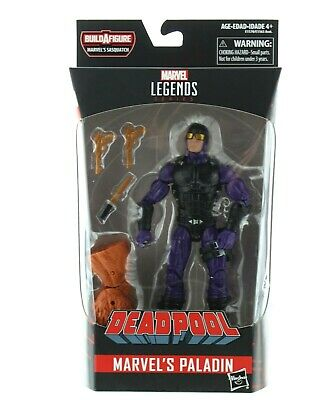 Marvel Legends Deadpool Paladin Action Figure, 6 in. with Sasquatch Leg