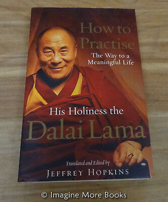 How To Practise  The Way To A Meaningful Life By Dalai Lama Xiv   Paperback